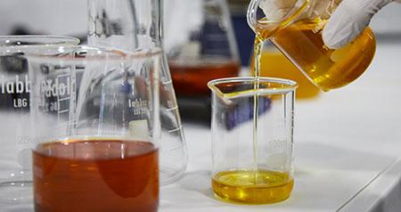 Gestión de aceite de cocina usado